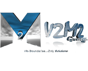 V2M2 No boundaries Logo
